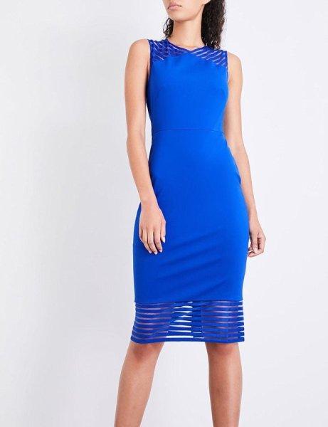 画像1: 【 Gorgi Coghlan使用】Ted Baker テッドベイカー Lucette Dress ブルー (1)
