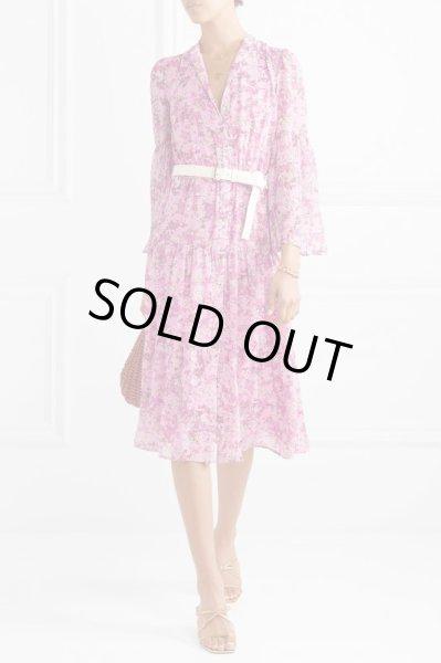 画像1: 【深田恭子さん、本田翼さん着用】Michael Michael Kors マイケルコース Enchanted Bloom Midi Dress (1)