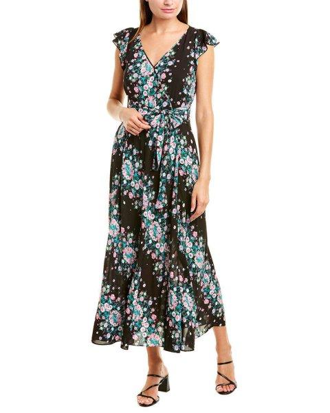 画像1: Diane von Furstenberg ダイアンフォンファステンバーグ Isla 花柄 Midi Dress (1)