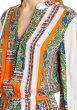 画像3: 【桐谷美玲さん、Cecilia Vega着用】Tory Burch トリーバーチ プリントオレンジドレス (3)