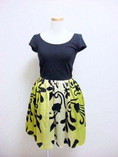 画像1: 【ゴシップガール ブレア着用】Alice + Olivia アリスアンドオリビア Trellis-Print Belted Dress