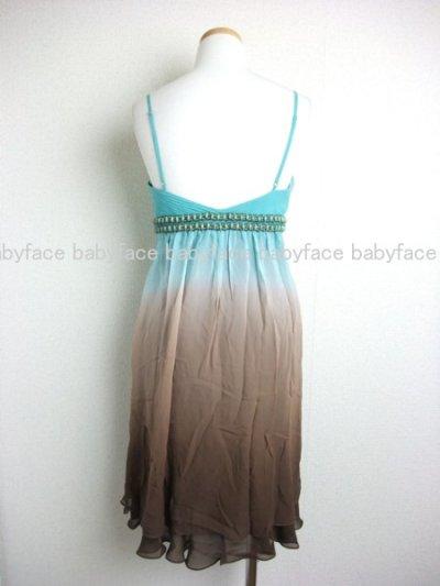 画像1: 【大島麻衣さんに衣装提供】Sue Wong ツートーングラデーションシフォンドレス